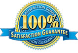 100% Satisfaction Guaranteed.