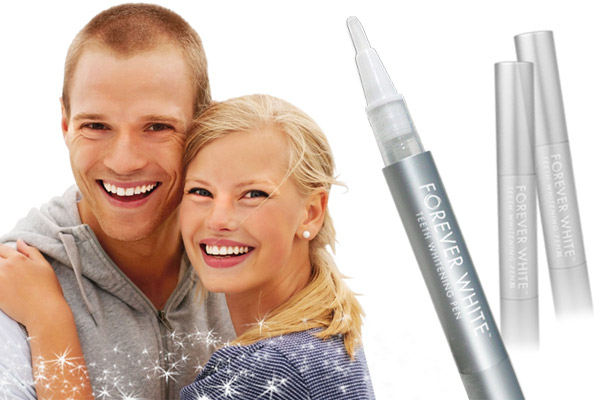 The #1 teeth whitening pen in the industry, Forever White™ pens contain the strongest gel available for home use (35% Carbamide Peroxide), and are made in the USA.