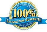 100% satisfaction guaranteed.